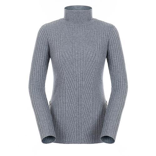 [팬텀]여성 사이드 버튼 리브 스웨터 22183SN176_GY