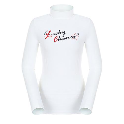 [팬텀]여성 레터링 기모 이너 티셔츠 22283TI954_IV