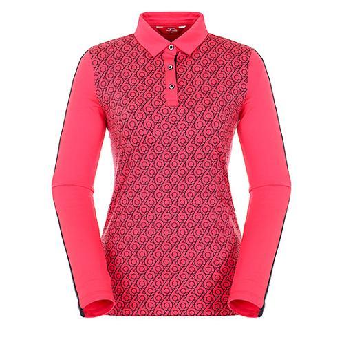 [팬텀]여성 레터링 프린트 기모 긴팔 티셔츠 22183TO070_PK