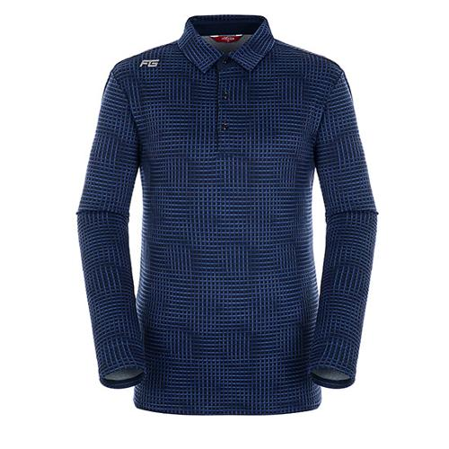 [팬텀]남성 플래드 패턴 기모 긴팔 티셔츠 21183TO011_NA
