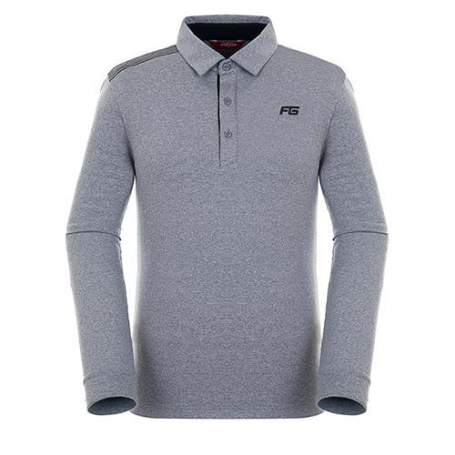 [팬텀]남성 스트라이프 포인트 기모 티셔츠 21283TO902_MG