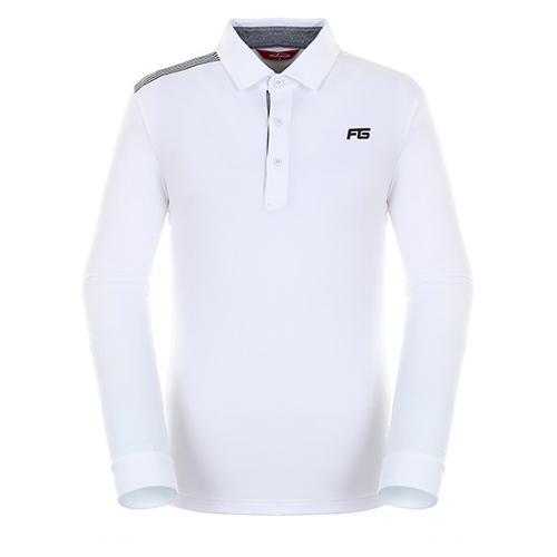[팬텀]남성 스트라이프 포인트 기모 티셔츠 21283TO902_IV
