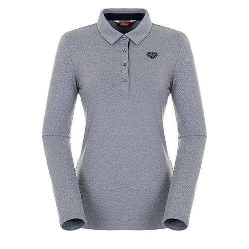 [팬텀]여성 스트라이프 포인트 기모 티셔츠 22283TO952_MG
