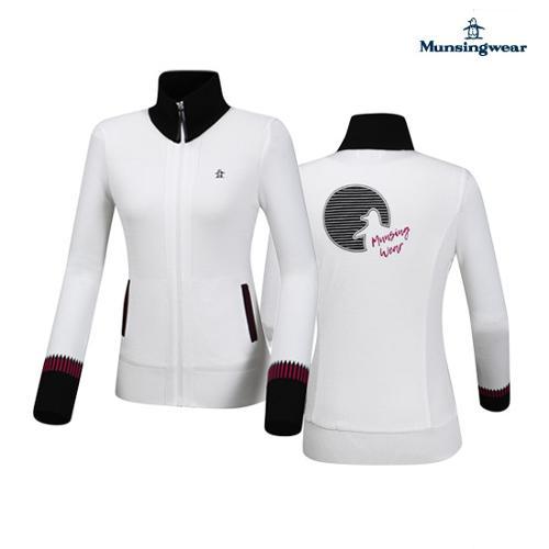 [먼싱웨어] 여성 슬림골지 집업스웨터 (M9322LSJ92)