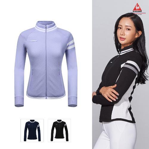 [르꼬끄골프] [19FW 신상]여성 방풍 패딩안감 스웨터 가디건 (G9422LKCO3)