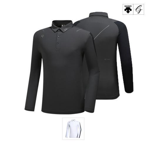 [데상트골프] [19FW]남성 프리미엄 퍼포먼스 긴팔 티셔츠 (D932MPTL91)