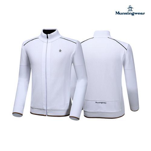 [먼싱웨어] 남성 지퍼형 스웨터 가디건 (M9321MSJ91)