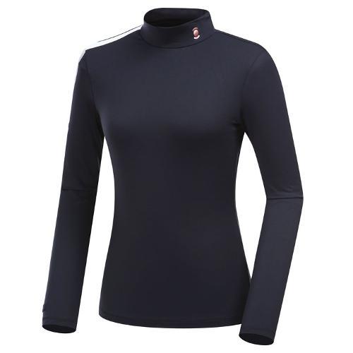 [와이드앵글] 여성 W.FIRE 베이직 하이넥 긴팔 티셔츠 WWW19201Z1