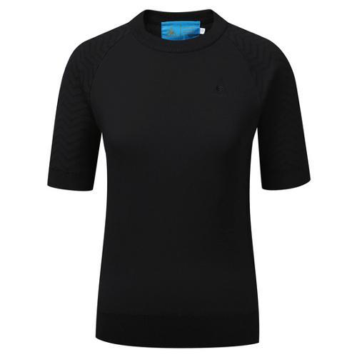 [르꼬끄골프] [60% OFF]여성 AGILE 반팔 스웨터 (G8312LKP91)