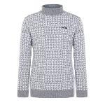 [핑]남성 하운드 투스 울 스웨터 11183SN123_MG