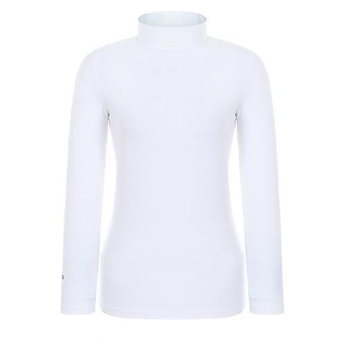 [핑]여성 솔리드 기모 긴팔 티셔츠 12283TI953_WH