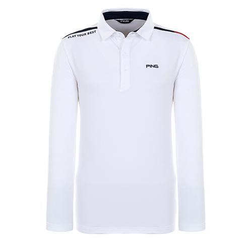 [핑]남성 라인 배색 기모 티셔츠 11283TO902 11283TO902_IV