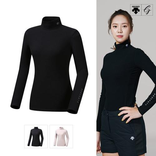 [데상트골프] [19FW]여성 소프트 터치 기모 이너 티셔츠 (D942WFINO1)