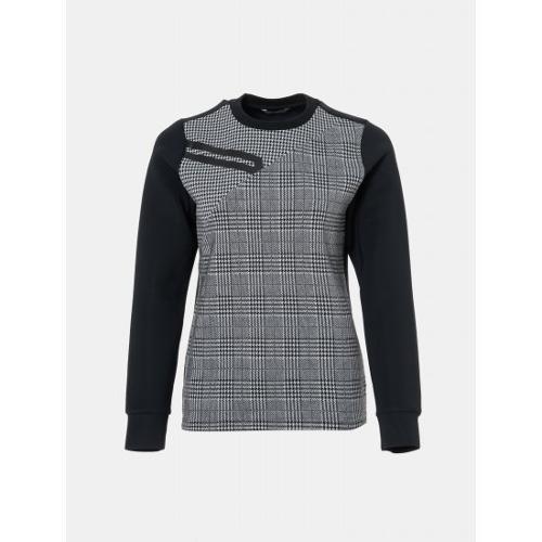 [빈폴골프] [NDL라인] 여성 블랙 멀티 체크 스웨트 셔츠 (BJ9841L475)