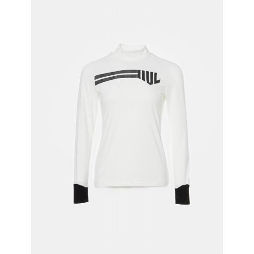 [빈폴골프] [NDL라인] 여성 화이트 원포인트 하이넥 티셔츠 (BJ9841L461)