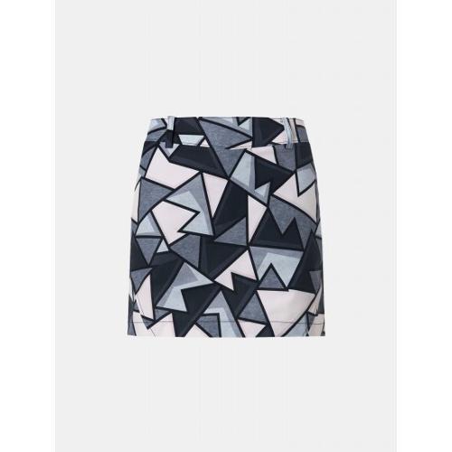 [빈폴골프] 여성 베이지 그래픽 패턴 큐롯 (BJ9426A13A)