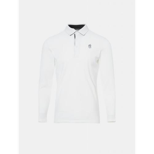 [빈폴골프] [NDL라인] 남성 아이보리 기모 칼라 티셔츠 (BJ9941M480)