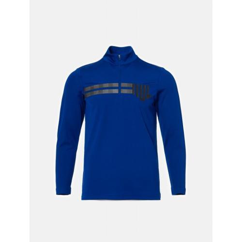 [빈폴골프] [NDL라인] 남성 블루 원포인트 반집업 티셔츠 (BJ9841M42P)