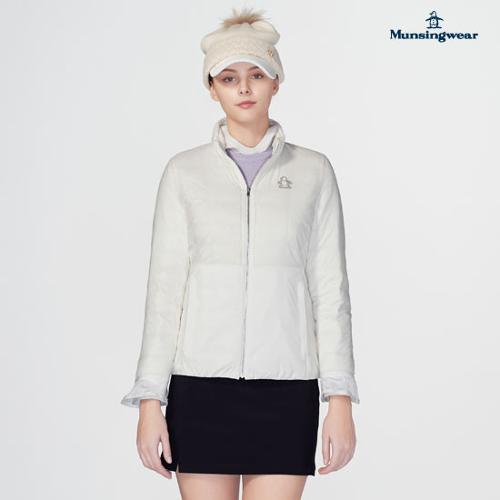 [먼싱웨어] [19FW 신상]여성 소매프릴 초경량 다운자켓 (M9422LJPO2)
