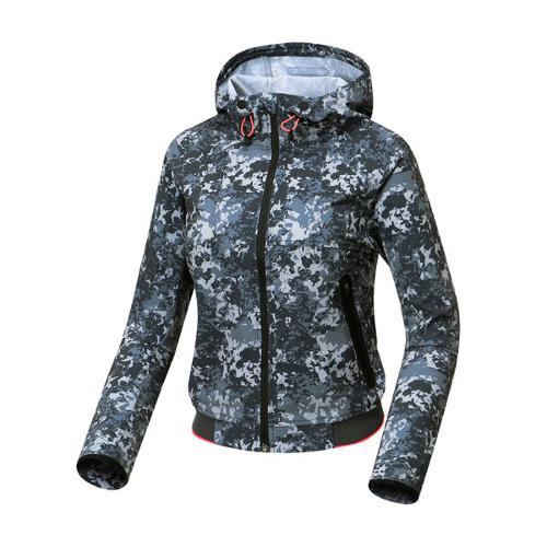 [와이드앵글] 여성 변형 프린트 후드 자켓 WWU17102C5