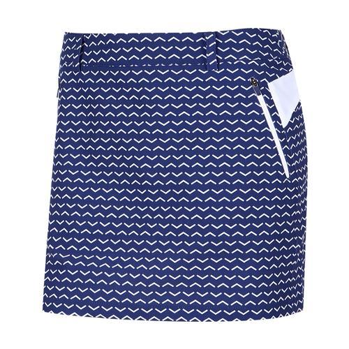 [와이드앵글] 여성 변형 패턴 프린트 큐롯 WWU17Q03B8