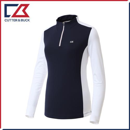 커터앤벅 여성 스판 긴팔티셔츠 - PB-11-193-201-32