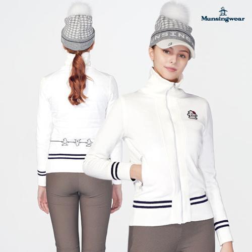 [먼싱웨어] [19FW 신상]여성 방풍안감 하이넥집업스웨터 (M9422LSJO5)