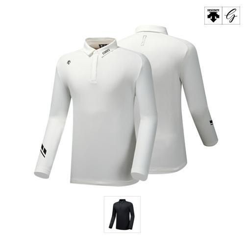 [데상트골프] [19FW]남성 소매 포인트 기모 긴팔 티셔츠 (D942MPTLO1)