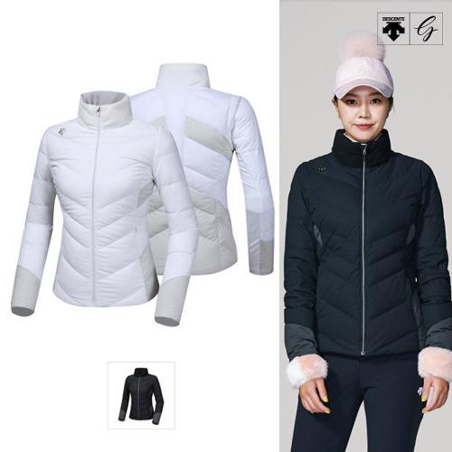 [데상트골프] [19FW]여성 포지드 스윙 다운 자켓 (D942WFDJO3)