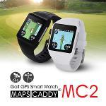 [설 선물 특가]맵스캐디 MC2 터치스크린 시계형 GPS 거리측정기