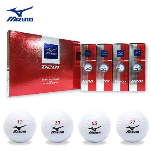 [사은품증정] 미즈노 D201 골프공(정품2피스 12알)