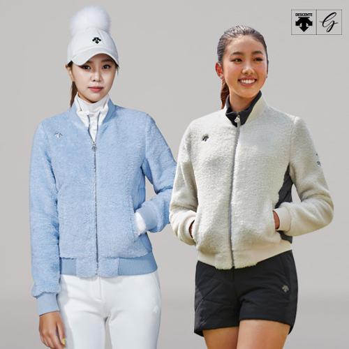 [데상트골프] [19FW]여성 뽀글이 방풍 다운자켓 (D942WFCSO7)