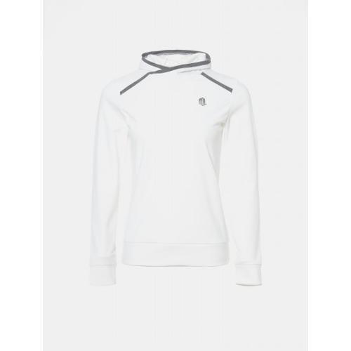 [빈폴골프] [NDL라인] 여성 아이보리 기모 미니 후드 티셔츠 (BJ9941L520)