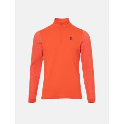 [빈폴골프] [NDL라인] 남성 오렌지 하이브리드 티셔츠 (BJ9941M498)