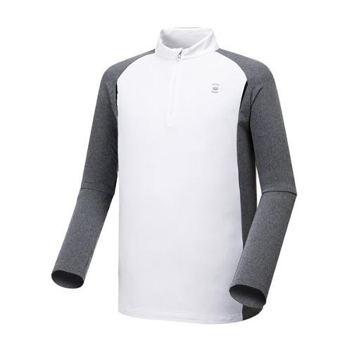 [와이드앵글] 남성 쓰리윙스 좌우 배색 티셔츠 WMW17202W3
