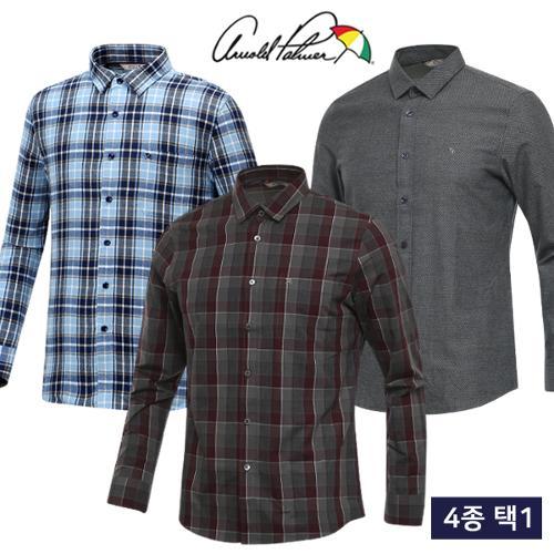[아놀드파마] FW추천 남성 보온 긴팔 셔츠/남방 균일가 4종 택1/골프웨어_AP247147