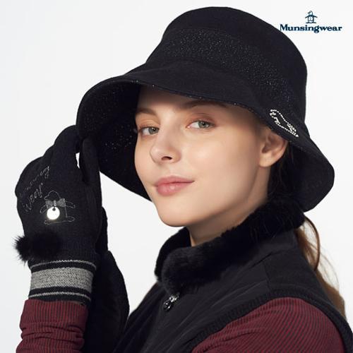 [먼싱웨어] [19FW 신상]여성 메탈사 버킷햇 (M9422LCPN4)