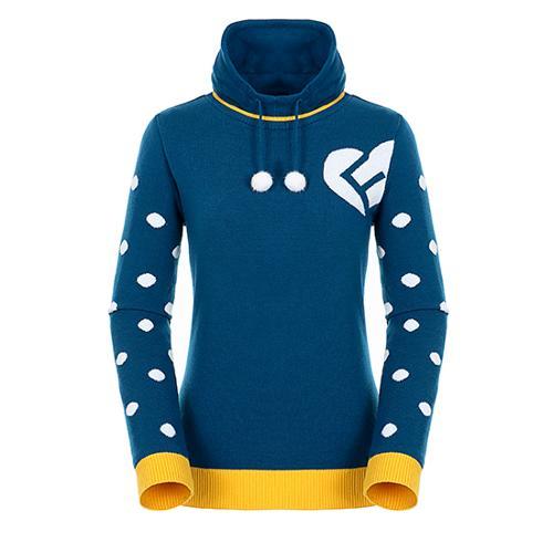 [팬텀]여성 도트 소매 방풍 스웨터 22184SN165_TQ