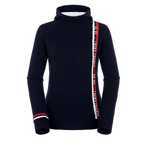 [팬텀]여성 레터링 스트라이프 방풍 스웨터 22184SN161_NA