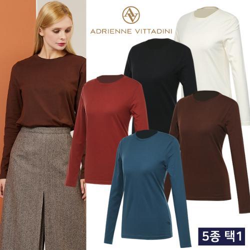 19FW 코튼오가닉 여성 긴팔티셔츠 균일가 5종 택1/골프웨어_