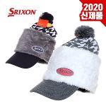 [2020년신제품]SRIXON 스릭슨 GAH-19008I 프리사이즈 여성용 니트캡 모자-2종칼라