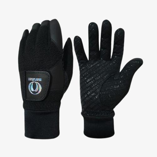 [2020년신제품]마루망골프코리아 바닥100%실리콘 프리미엄 남성 겨울용 양손골프장갑-1SET