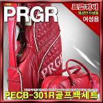 [PRGR]  프로기어 PRCB-301R 골프백세트[여성용][와인]
