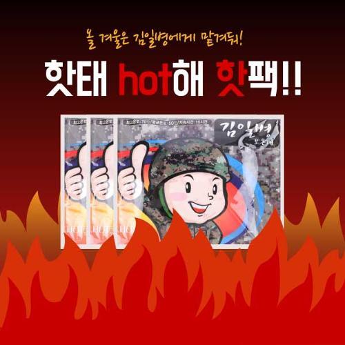 김일병 군용 핫팩 20개