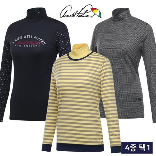 [아놀드파마] FW 데일리 여성 보온 긴팔티셔츠 4종 택1/골프웨어_248005