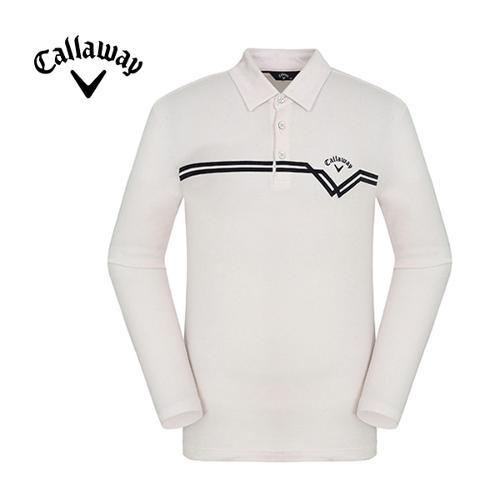 [캘러웨이]남성 캐주얼 카라 티셔츠 CMTYF4101-101