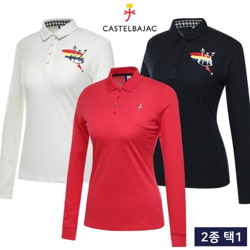 [까스텔바작] 겨울 BEST 여성 긴팔티셔츠 균일가 2종 택1/골프웨어_CB248020