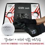 선물포장가능[선물세트]캘러웨이헥스디아블로+마루망바닥실리콘 프리미엄 겨울 방한양손세트골프장갑