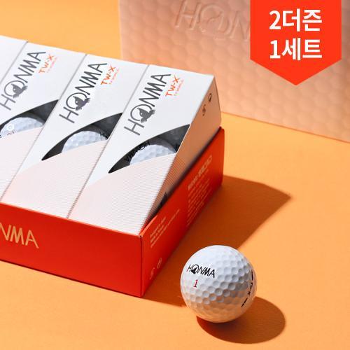2더즌총24구/혼마 투어월드 TW X 3피스 우레탄 골프공