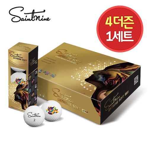 4더즌 총 48구/넥센 세인트나인 익스트림소프트 GOLD 4피스 골프공